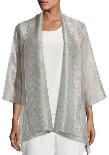 Caroline RoseCaroline Rose Elegant Sheer Mesh Jacket, Plus Size