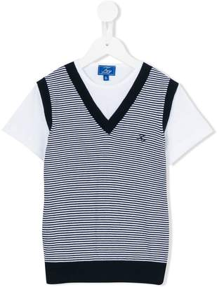 Fay Kids striped tank top T-shirt