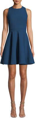 Cinq à Sept Araceli Scoop-Neck Sleeveless Short Dress