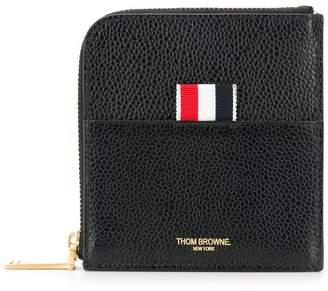 Thom Browne curved zip wallet