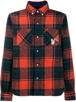 Billionaire Boys Club casual plaid shirt