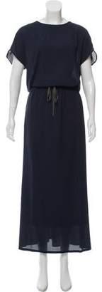 Fabiana Filippi Silk Maxi Dress