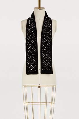 Miu Miu Velvet scarf