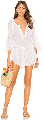 Vix Paula Hermanny Chemise Tunic Dress