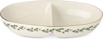 Lenox Holiday Entertaining Divided Oval Bowl
