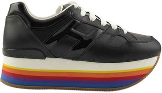 Hogan Rainbow Platform Sneakers