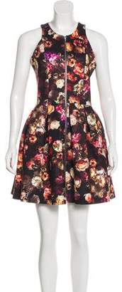 Nicholas Sleeveless Floral Print Dress