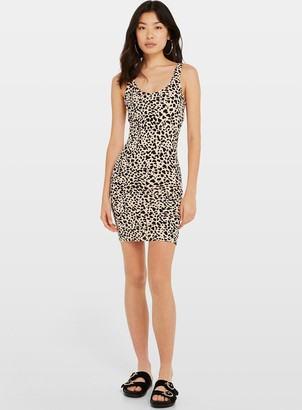b56e1196a16e Miss Selfridge Multi Coloured Animal Print Bodycon Dress