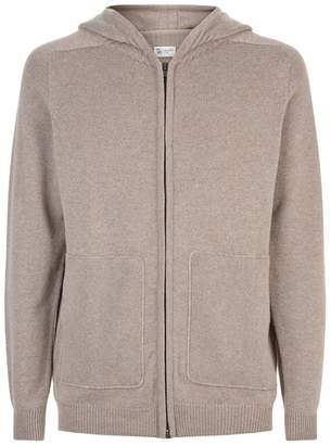Johnstons of Elgin Cashmere Zipped Hoodie