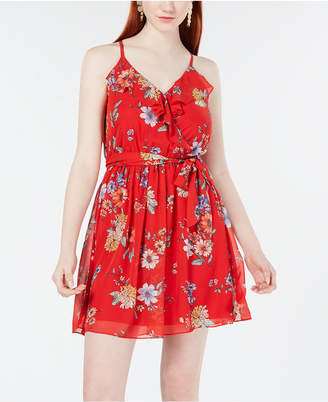 3bafc594a29 BCX Juniors  Ruffle-Detail Fit   Flare Dress