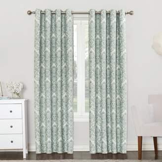 Sun Zero 49205 Caroline Blackout Lined Grommet Single Curtain Panel