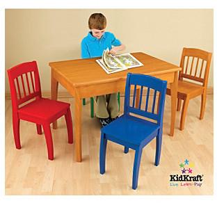 Kid Kraft Euro Honey Table & Chair Set