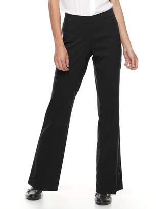 Apt. 9 Petite Brynn Pull-On Bootcut Dress Pants