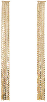 Free Press XL Chain Fringe Shoulder Duster Earrings $12.97 thestylecure.com