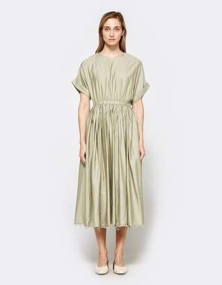 Pleated Dress in Shetland $235 thestylecure.com