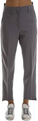 Golden Goose Grey Wool Pants