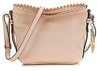 Jessica Simpson Camile Studded Cross-Body Bucket Bag $88 thestylecure.com