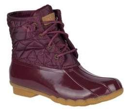 Sperry Saltwater Quilted Nylon Duck Boots