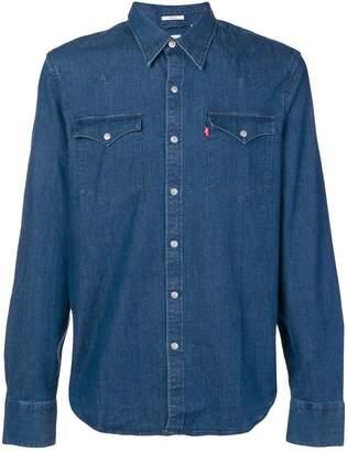 Levi's denim button down shirt