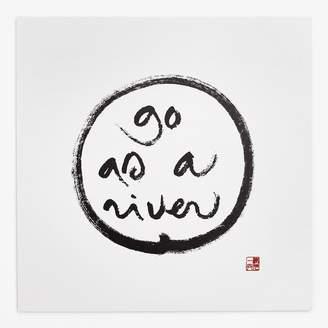Thich Nhat Hanh Go As A River Art Card