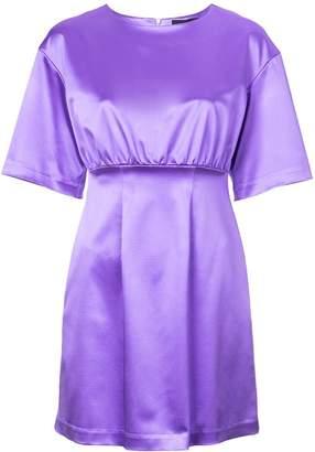 Cynthia Rowley Rush Satin Mini Dress