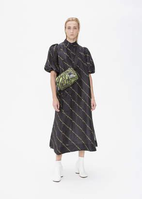 Ganni Short Sleeve Full Dress