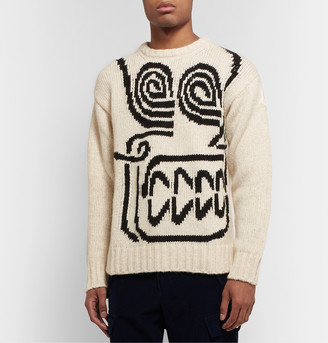 Moncler Genius 2 1952 Intarsia Knitted Sweater