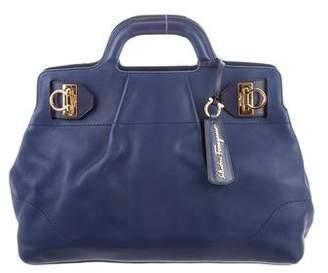 Salvatore Ferragamo Blue Handbags - ShopStyle 8b9a03a8d5354