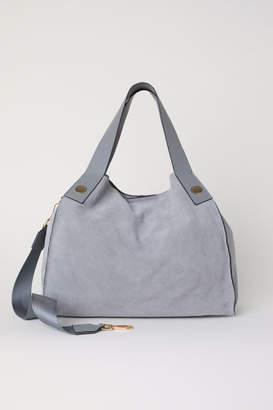 H&M Suede Shopper - Gray