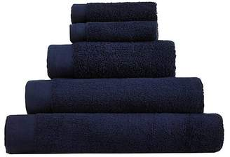 George Home 100% Cotton Bath Sheet - Navy