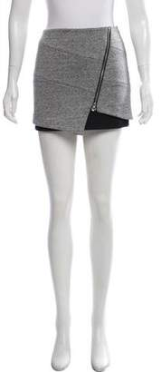 Intermix Asymmetrical Mini Skirt