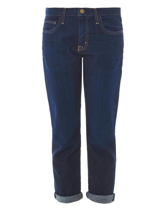 Current/Elliott The Boyfriend mid-rise jeans