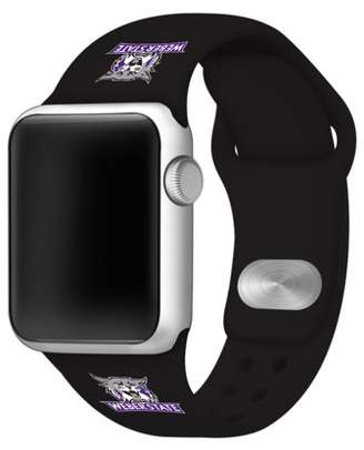 Affinity Bands Weber State Wildcats Silicone Sport Band for Apple Watch - 42mm BLK