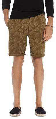 Scotch & Soda Leaf Print Chino Shorts