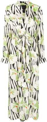 Jill Stuart printed kimono dress
