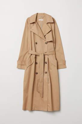 H&M Long Trenchcoat - Beige