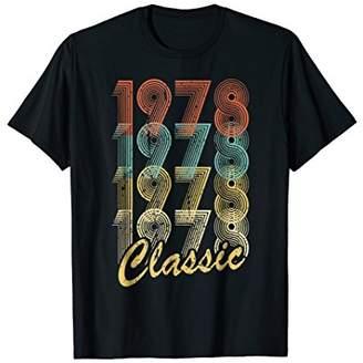 40th Birthday Gift Retro style 1978 Classic Vintage T-Shirt