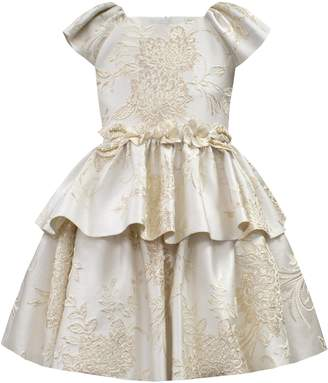 David Charles Brocade Dress