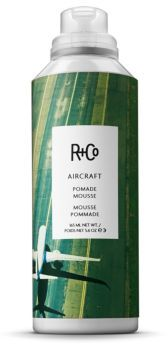 R+Co AIRCRAFT Pomade Mousse/5.6 oz. $29 thestylecure.com