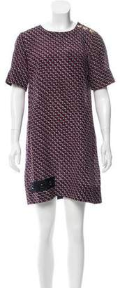Marc Jacobs Polka Dot Print Silk Dress