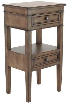 Brimfield & May Traditional Wooden Side Table With Drawers