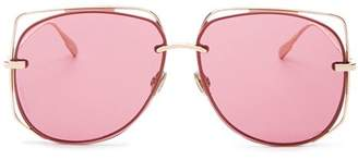 Christian Dior Unisex Stellaire 6 Aviator Sunglasses, 61mm