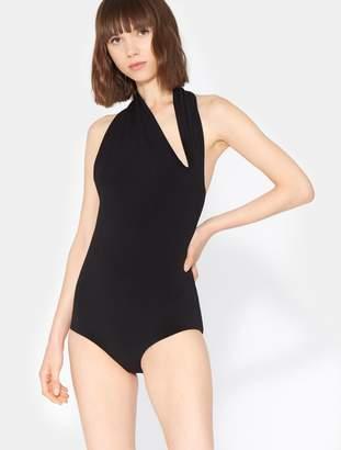Halston Iconic Halter Neck Bodysuit
