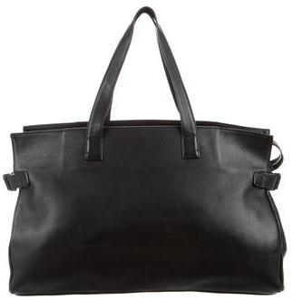 Yohji Yamamoto Leather Tote $195 thestylecure.com