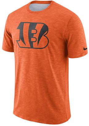 Nike Men's Cincinnati Bengals Dri-Fit Cotton Slub On-Field T-Shirt