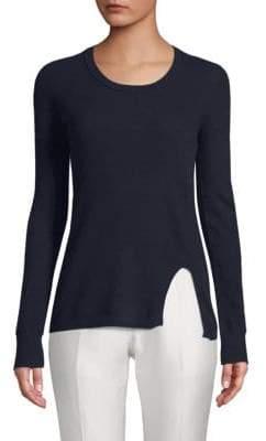 Inhabit Cutaway Crewneck Sweater