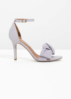 And other stories Knotted Heeled Sandals