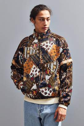 Urban Outfitters Scarf Print Bomber Jacket