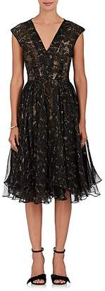 Gary Graham Women's Hedera Layered-Print Silk Dress