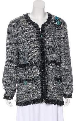 Couture St. John Tweed Metallic Jacket w/ Tags